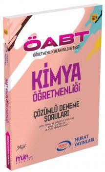 Murat Yayınları ÖABT Kimya Öğretmenliği Çözümlü Deneme Soruları 1187