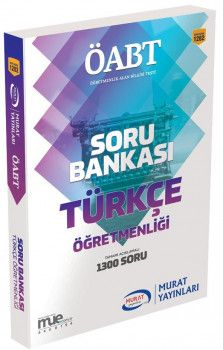 Murat Yayınları ÖABT Türkçe Öğretmenliği Soru Bankası 1282