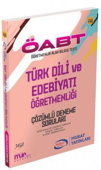 Murat Yayınları ÖABT Türk Dili ve Edebiyatı Öğretmenliği Çözümlü Deneme Soruları 1183