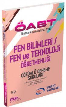Murat Yayınları ÖABT Fen Bilimleri Fen ve Teknoloji Öğretmenliği Çözümlü Deneme Soruları 1184