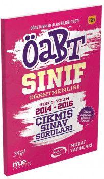 Murat Yayınları ÖABT Sınıf Öğretmenliği Çıkmış Sınav Soruları 1423
