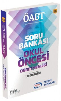Murat Yayınları ÖABT Okul Öncesi Öğretmenliği Soru Bankası 1296