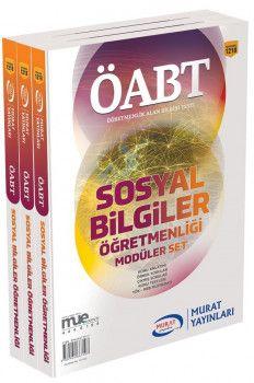Murat Yayınları ÖABT Sosyal Bilgiler Öğretmenliği Konu Anlatımlı Modüler Set 1218