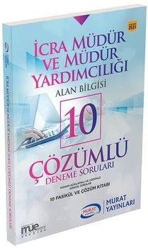 Murat Yayınları İcra Müdür ve Müdür Yardımcılığı Alan Bilgisi 10 Çözümlü Deneme Soruları