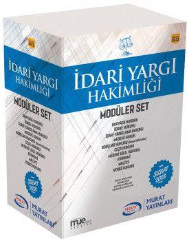 Murat Yayınları İdari Hakimliği Modüler Set 2412