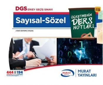 Murat Yayınları DGS Sözel Sayısal 2130 Öğretmenin Ders Notları