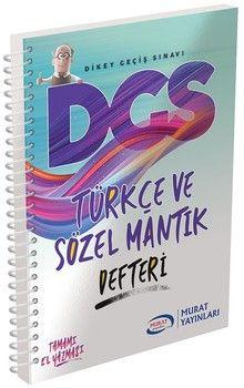 Murat Yayınları DGS Türkçe ve Sözel Mantık Defteri