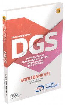 Murat Yayınları DGS Sayısal Sözel Mantık Tablo ve Grafik Okuma Akıl Yürütme Soru Bankası 2153