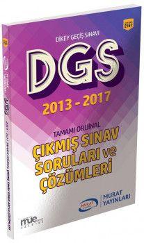 Murat Yayınları DGS 2013 2017 Çıkmış Sınav Soruları ve Çözümleri 2161