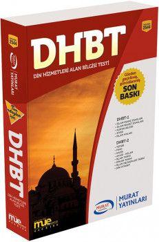 Murat Yayınları DHBT Din Hizmetleri Alan Bilgisi Testi 2544