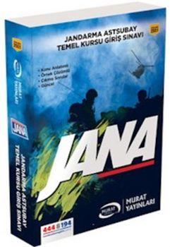 Murat Yayınları  JANA Jandarma Astsubay Temel Kursu Giriş Sınavı Konu Anlatımlı