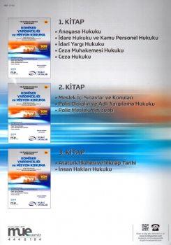 Murat Yayınları Komiser Yardımcılığı ve Misyon Koruma Modüler Set 2500