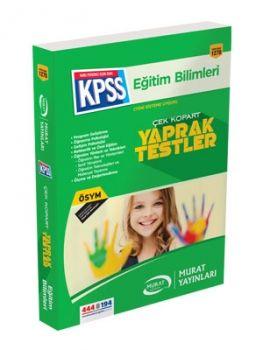 Murat Yayınları KPSS Eğitim Bilimleri 1270 Çek Kopart Yaprak Test