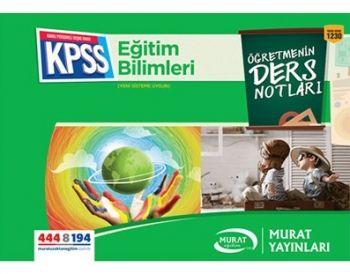 Murat Yayınları KPSS Eğitim Bilimleri Öğretmenin Ders Notları