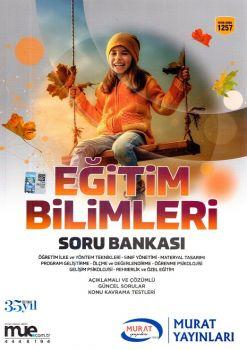 Murat Yayınları KPSS Eğitim Bilimleri Soru Bankası 1257