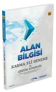 Murat Yayınları KPSS A Grubu Alan Bilgisi Karma 5 li Deneme ve Çözüm Kitapçığı