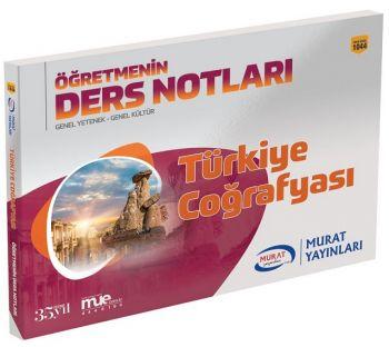 Murat Yayınları KPSS Türkiye Coğrafyası Öğretmenin Ders Notları 1044