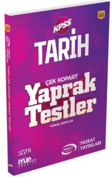 Murat Yayınları KPSS Tarih Çek Kopart Yaprak Test 1073