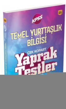 Murat Yayınları KPSS Temel Yurttaşlık Bilgisi Çek Kopart Yaprak Test 1075