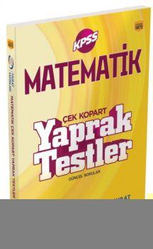 Murat Yayınları KPSS Matematik Çek Kopart Yaprak Test 1072