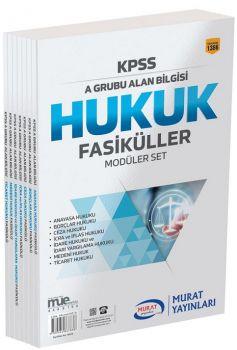 Murat Yayınları KPSS A Grubu Hukuk Fasikül Modüler Set 1386