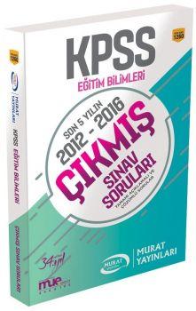 Murat Yayınları KPSS Eğitim Bilimleri Son 5 Yılın Çıkmış Sınav Soruları 1260