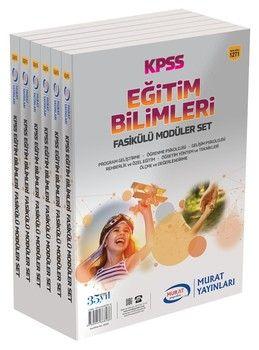 Murat Yayınları KPSS Eğitim Bilimleri Fasikülü Modüler Set