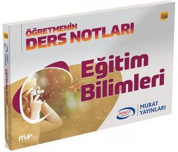 Murat Yayınları KPSS Eğitim Bilimleri Ders Notları 1230