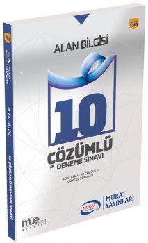 Murat Yayınları KPSS A Grubu Alan 10 Çözümlü Deneme Sınavı 1365