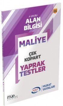 Murat Yayınları KPSS A Grubu Maliye Çek Kopart Yaprak Test 1373