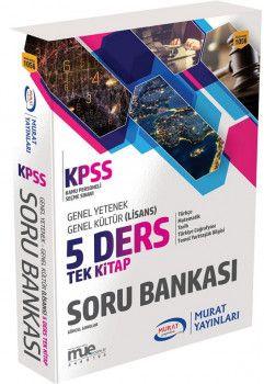 Murat Yayınları KPSS Genel Yetenek Genel Kültür 5 Ders Tek Kitap Soru Bankası 1056