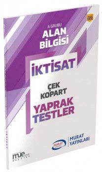 Murat Yayınları KPSS A Grubu İktisat Çek Kopart Yaprak Test 1372