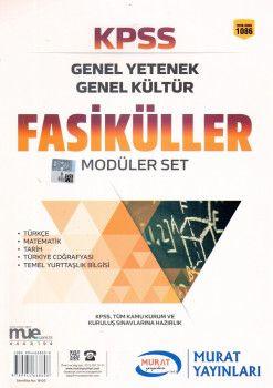 Murat Yayınları KPSS Genel Yetenek Genel Kültür Modüler Fasikül Set 1086