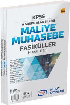 Murat Yayınları KPSS A Grubu Alan Bilgisi Muhasebe Fasikül Modüler Set 1388
