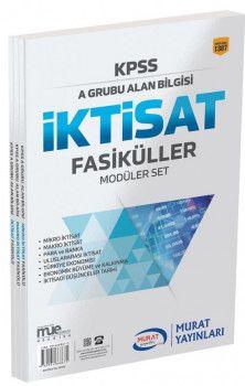 Murat Yayınları KPSS A Grubu Alan Bilgisi İktisat Fasiküller Modüler Set 1387