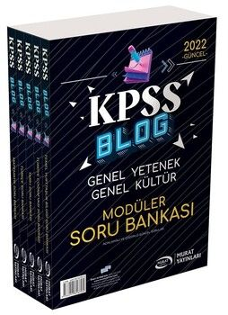 Murat Yayınları KPSS Blog GY GK Modüler Soru Bankası