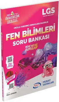 Murat Yayınları LGS Fen Bilimleri Soru Bankası Öğrencim Serisi