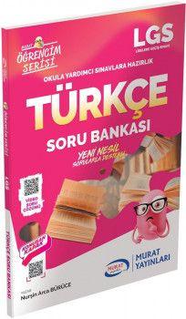 Murat Yayınları LGS Türkçe Soru Bankası Öğrencim Serisi