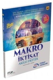 Murat Yayınları Makro İktisat Akıllı Defter 1397