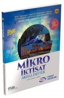 Murat Yayınları Mikro İktisat Akıllı Defter 1398
