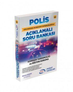 Murat Yayınları Polis Komiser Yardımcılığı ve Misyon Koruma
