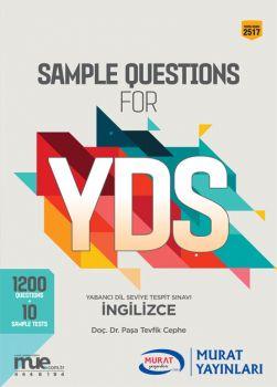 Murat Yayınları YDS Sample Questions For 2517