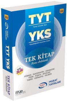 Murat Yayınları YKS 1. Oturum TYT Tek Kitap Konu Anlatımlı 2570
