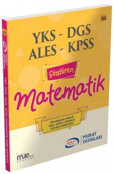 Murat Yayınları YKS DGS ALES KPSS Çözdüren Matematik 2558