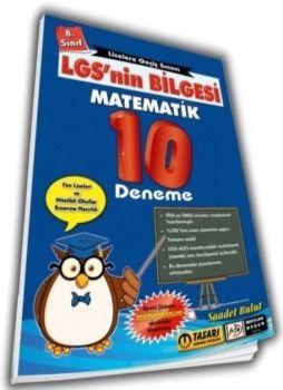Mutlak Değer Yayınları 8. Sınıf LGS nin Bilgesi Matematik 10 Deneme