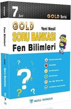 Mutlu Yayıncılık 7. Sınıf Fen Bilimleri Gold Serisi Yeni Nesil Soru Bankası