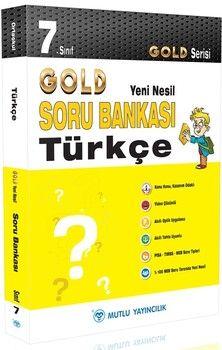 Mutlu Yayıncılık 7. Sınıf Türkçe Gold Serisi Yeni Nesil Soru Bankası