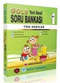 Mutlu Yayıncılık 1. Sınıf Tüm Dersler Gold Soru Bankası