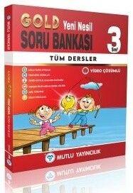 Mutlu Yayıncılık 3. Sınıf Tüm Dersler Gold Soru Bankası