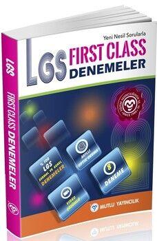 Mutlu Yayıncılık 8. Sınıf LGS First Class Denemeleri
